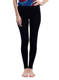 Women's Sporty Legging Yoga Pants Ultimate Tight Modal Black