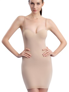 Women's Micro Fiber Slimming Full Slip Shapewear
